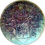 22 Pfennig - Jubilee of Freedom – obverse