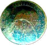 22 Pfennig - Jubilee of Freedom – reverse