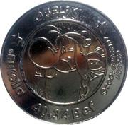 1 Nutella Euro (Obelix) – obverse
