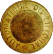 Token - Automatique du littoral – obverse