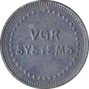 Arcade Token - VGR Systems – obverse
