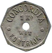 1 Kilo Pain Blanc - Concordia (Courtrai) – reverse