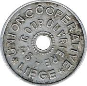10 Centimes - Union Coopérative (Liège) – obverse