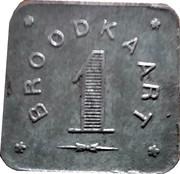 1 Broodkaart (Gent) – reverse