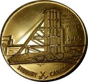 """Medallion - Sudbury """"Numismatic Park"""" (Model Mine) – obverse"""