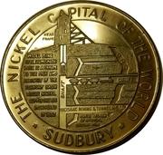 """Medallion - Sudbury """"Numismatic Park"""" (Model Mine) – reverse"""