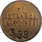Token - TC Istanbul Belediyesi – obverse