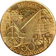 50 Bourgondier - Brugge – reverse