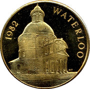 100 Pistoles - Waterloo – obverse