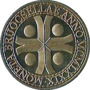 1 Souverein - Brussel (1000 years) – obverse