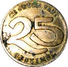 25 Centimes - Samva – reverse