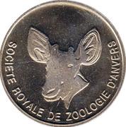 Token - ociété Royale Zoologique d'Anvers – reverse