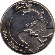 Royal Belgian Mint Token – reverse