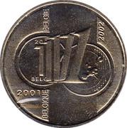 Token - Royal Belgian Mint (1 Frank) – reverse