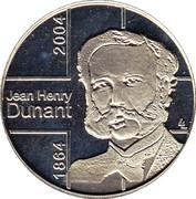 Token - Jean Henri Dunant – obverse