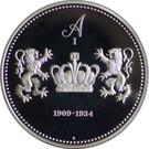 Token - Roi des Belges (Albert I) – reverse