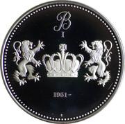 Token - Roi des Belges (Baudouin I) – reverse