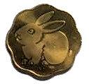 Mint Token (Rabbit) – obverse