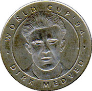 Token - Foot Magazine (World Cup'94 - Dirk Medved) – obverse