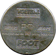 Token - Foot Magazine (World Cup'94 - Dirk Medved) – reverse