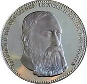 Token - Roi des Belges (Leopold II) – obverse