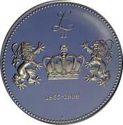 Token - Roi des Belges (Leopold II) – reverse