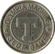 Token - Olympia Machine Slot Game – obverse