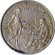 Medallion - Liege International 1905 – obverse