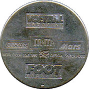 Token - Foot Magazine (World Cup'94 - Luc Nilis) – reverse