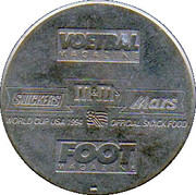 Token - Foot Magazine (World Cup'94 - Lorenzo Staelens) – reverse