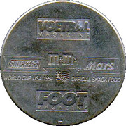Token - Foot Magazine (World Cup'94 - Georges Grun) – reverse