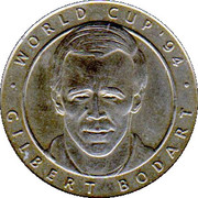 Token - Foot Magazine (World Cup'94 - Gilbert Bodart) – obverse