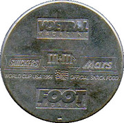 Token - Foot Magazine (World Cup'94 - Gilbert Bodart) – reverse