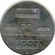 Token - Foot Magazine (World Cup'94 - Gilbert Bodart) – reverse