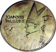 Token - Joannes Paulus Ii (First Visit of the Pope in Belgium) – obverse