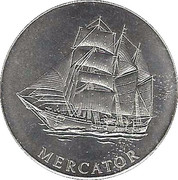 "Token - Eurosail Antwerp (""Mercator"") – obverse"