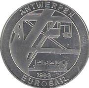 "Token - Eurosail Antwerp (""Mercator"") – reverse"