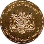 Medal - Baudouin I – reverse