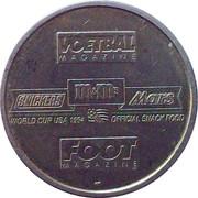 Token - Foot Magazine (World Cup'94 - Franky Van der Elst) – reverse