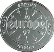 Token - Europe (Belgium) – reverse