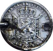 2 Francs - Léopold II (Lauer Imitation Nürnberg) – reverse