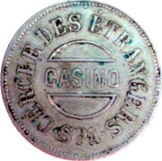 2 Francs - Casino de Spa – obverse
