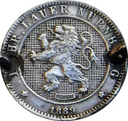 10 Centimes (Lauer Imitation Nürnberg) – obverse