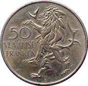 50 Vlaamse Franken - Vlaanderen – reverse