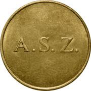 Token - A. S. Z. – obverse