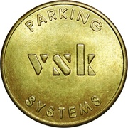 Token - VSK Parking Systems (small font) – reverse