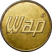 Car Wash Token - Wap (21 mm) – obverse
