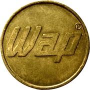 Car Wash Token - Wap (22 mm) – reverse
