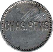 20 Centavos - Emmercantia (Chas. Sens) – obverse
