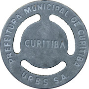 Token - Curitiba City Bus – reverse